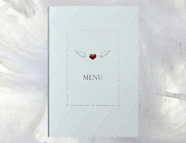 結婚式メニュー表-アンジュ 手作りメニュー表