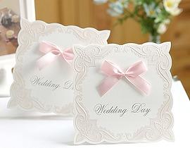 ... |結婚式 手作り招待状 のAMO LEAF