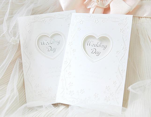 結婚式招待状-スプリング