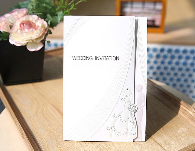 結婚式招待状-【手作り招待状】イノセント