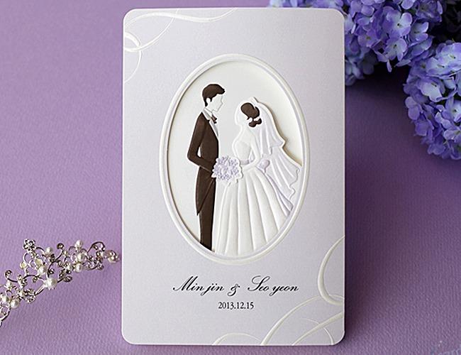 結婚式招待状-【手作り招待状】オーブ
