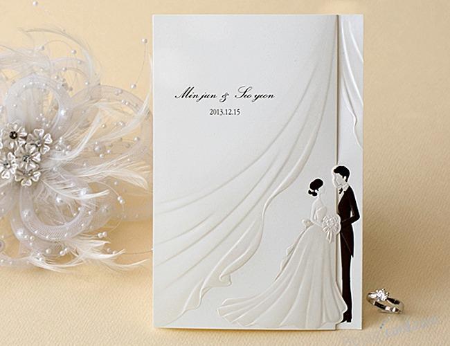 結婚式招待状-【手作り招待状】ベール