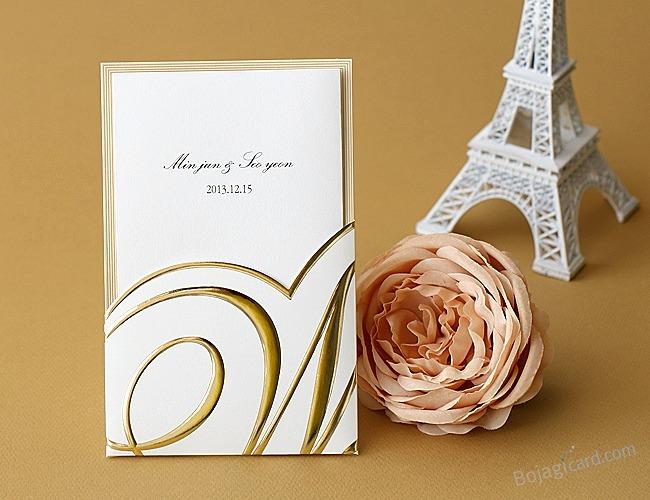 結婚式招待状-ホワイトチョコ