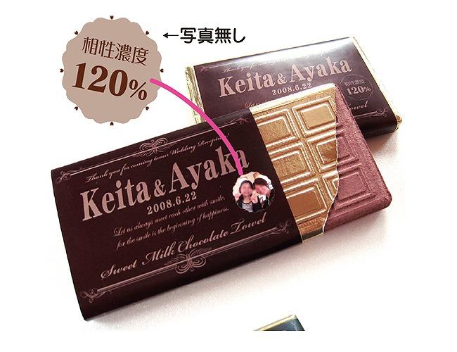 プチギフト:SWEETチョコレートタオル