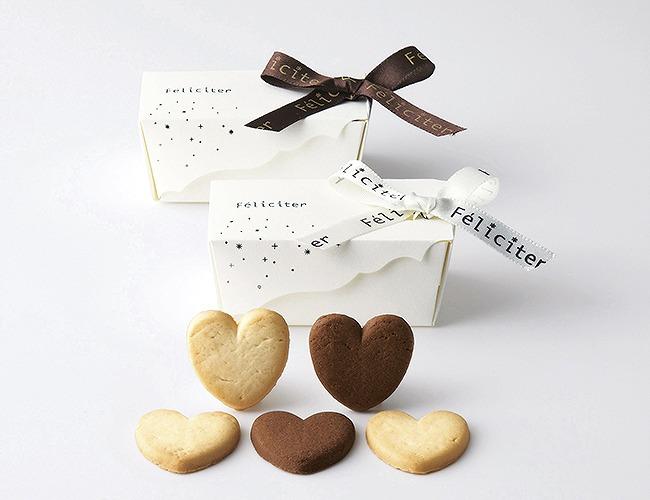 プチギフト:フェリシテ ガトーミニボックス(ハートクッキー)